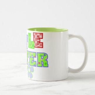 Little Sister Flowers Coffee Mug
