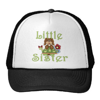 Little Sister Fluffy Pup 2 Cap