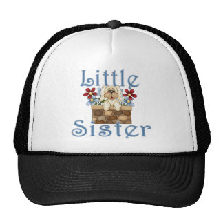 Little Sister Fluffy Pup 3 Cap