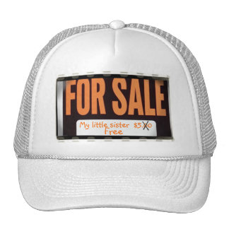 Little Sister For Sale Hat