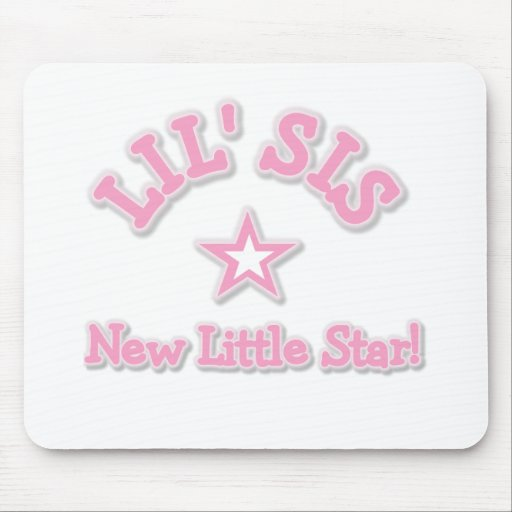 Little Sister New Little Star Tshirts Mouse Pads