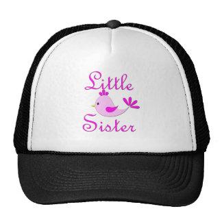 Little Sister Pink Bird Trucker Hats
