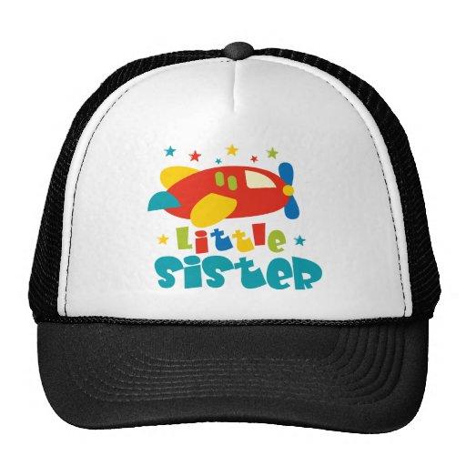 Little Sister Plane Mesh Hat