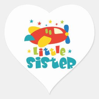 Little Sister Plane Sticker