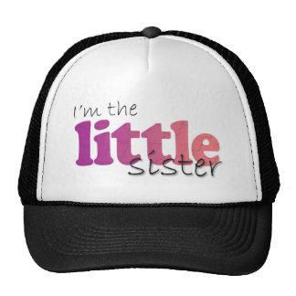Little Sister - purple & pink flowers Mesh Hat