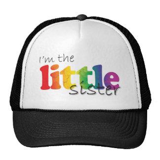 Little Sister - rainbow flowers Trucker Hat