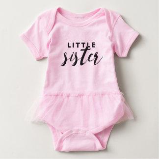 Little Sister Tutu Baby Bodysuit