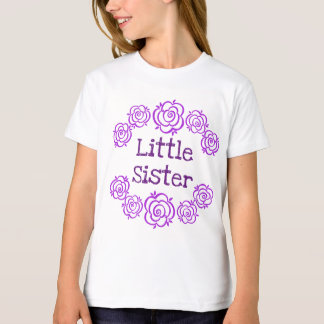 LITTLE SISTER with Roses v4e T-Shirt