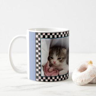 Little Sleepy-Head Kitten Coffee Mug