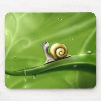 little snail mouse pad
