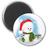 Little Snowman Magnet