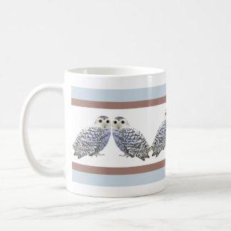 Little Snowy Owls Coffee Mug