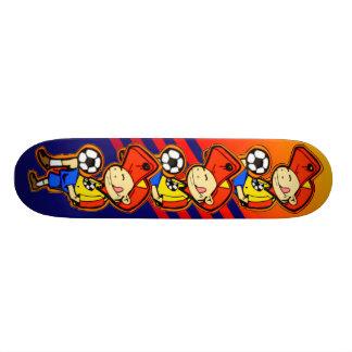 Little Soccer Player Skateboard Decks