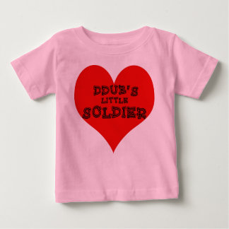Little Soldier Baby T-Shirt