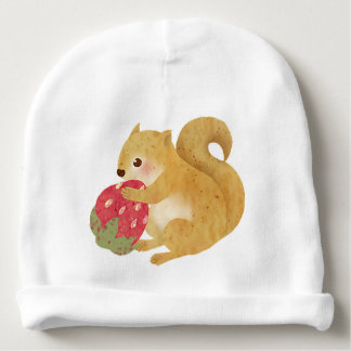 Little Squirrel Baby Beanie