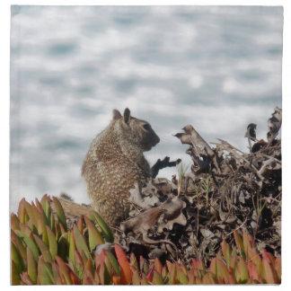 Little squirrel napkin