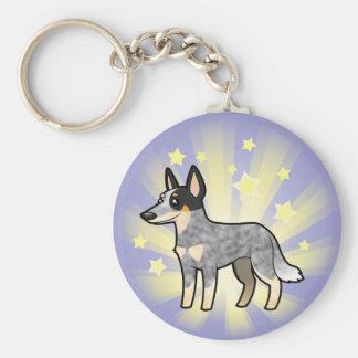Little Star Australian Cattle Dog / Kelpie Key Ring
