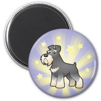 Little Star Giant/Standard/Miniature Schnauzer Magnet