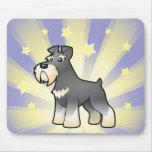 Little Star Giant/Standard/Miniature Schnauzer Mouse Pad