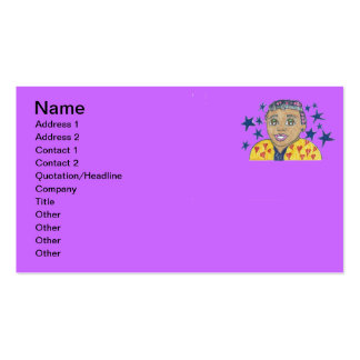 Little Star/Mylei twinkles and soars Business Card Templates