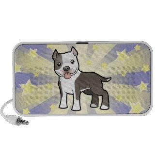 Little Star Pitbull/American Staffordshire Terrier Portable Speakers