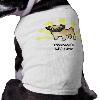 Little Star Pug Shirt