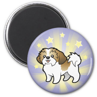 Little Star Shih Tzu (puppy cut) Magnet