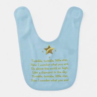 Little Star Twinkle Bib
