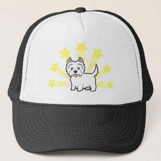 Little Star West Highland White Terrier Trucker Hat