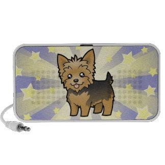 Little Star Yorkshire Terrier (short hair no bow) Mini Speaker