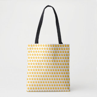 little stars cheerful tote bag