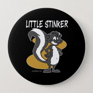 Little Stinker Skunk 10 Cm Round Badge