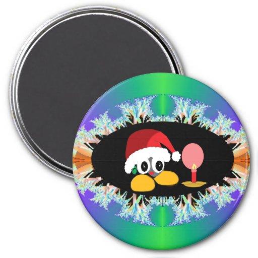 Little St'Nick Snowflake Magnet