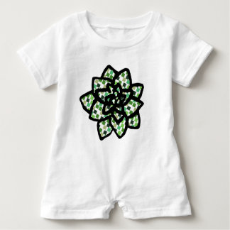 Little Succulent Baby Bodysuit