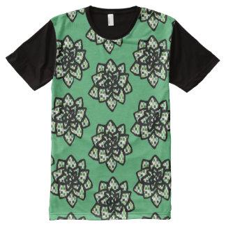 Little Succulents All-Over Print T-Shirt