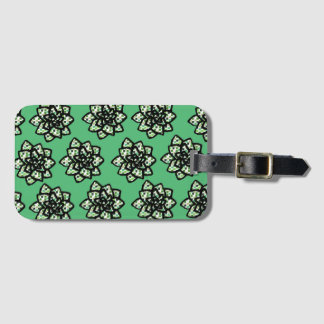 Little Succulents Luggage Tag