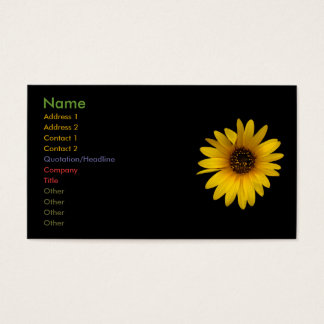Little Sunflower Business Card