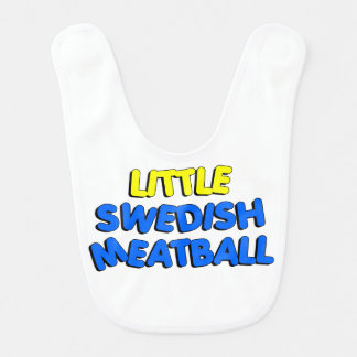 Little Swedish Meatball Bib