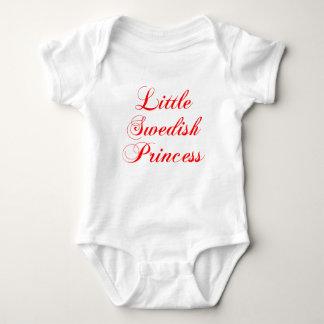Little Swedish Princess Baby Bodysuit