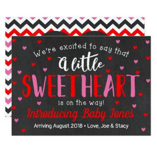 Little Sweetheart Pregnancy Announcement