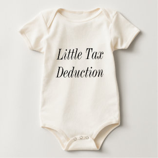 Little Tax Deduction Rompers