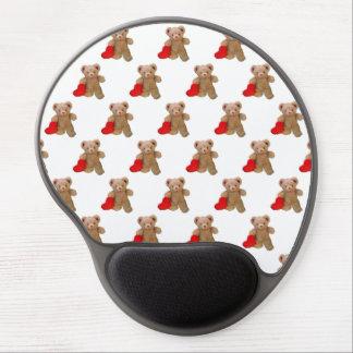 Little Teddy Big Heart tiled Gel Mouse Pad