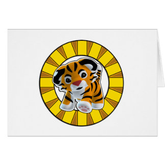 Little Tiger Card