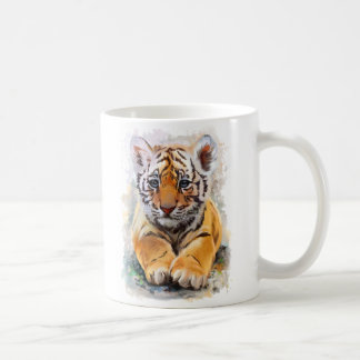 Little tiger coffee mug