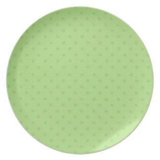 Little Travelers: Green Dot plate