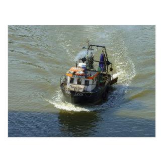 Little Trawler, Cardiff Bay Harbour Postcard