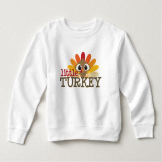 Little turkey kids toddler unisex Thanksgiving Sweatshirt