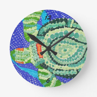 Little Turtle with Many Spots clock