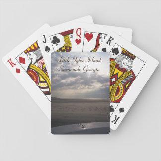 Little Tybee Island Beach at Sunrise   Savannah Card Decks