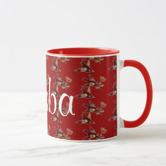 Little Ukrainian Birds for Baba Mug